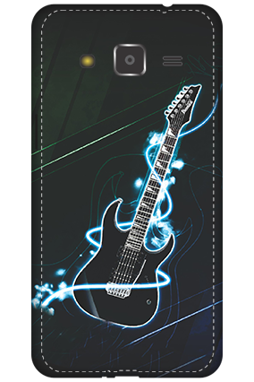 3D - Samsung Galaxy J2 Lightning Guitar Mobile Cover