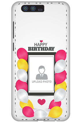 3D - Huawei Honor 9 Birthday Greetings Mobile Cover