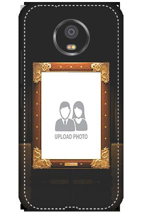 3D - Motorola Moto G5S Framed Mobile Cover