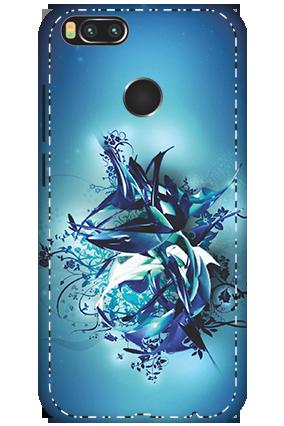 3D - Xiaomi Mi A1 Blue Pheonix Mobile Cover