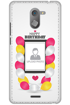 3D - Infinix Hot 4 Birthday Greetings Mobile Cover