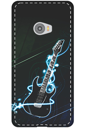 3D-Xiaomi Mi Note 2 Lightning Guitar Mobile Cover