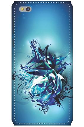3D-Xiaomi Mi 5c Blue Pheonix Mobile Cover