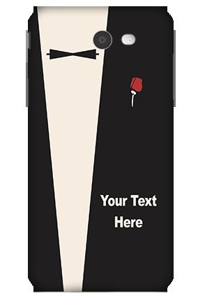3D-Samsung Galaxy J7 A Gentleman Theme Mobile Cover