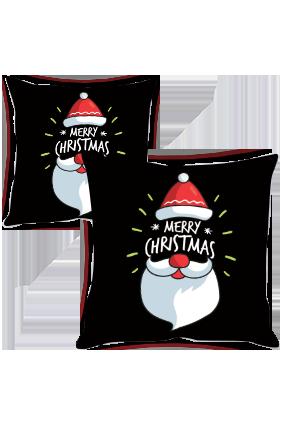 Santa's Wish Merry Christmas Cushion Cover