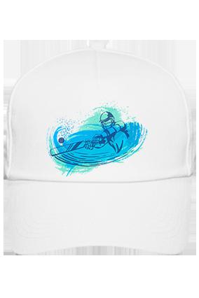 Cricket Fever Customized Cotton White Cap