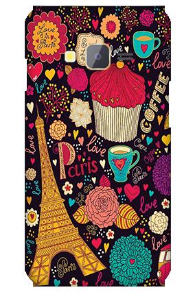 Samsung Z1 Paris Valentine's Day Mobile Cover