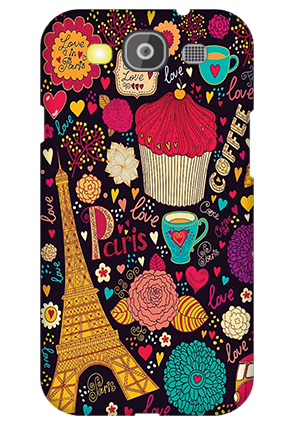 Customize Samsung Galaxy S3 Neo Paris Valentine's Day Mobile Cover