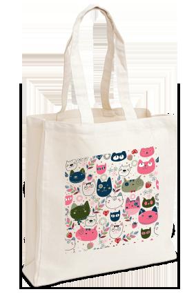 Designer Abstract Tote Bag