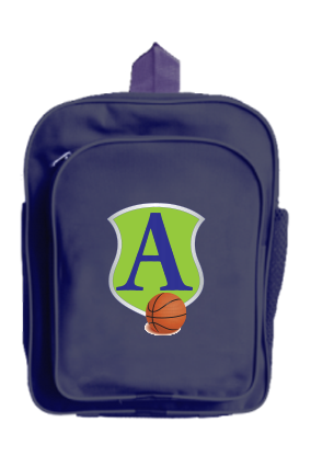Basketball Craze School Bag