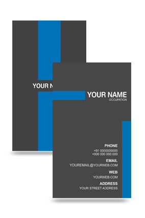 Personalized Amazing Vertical Business Card