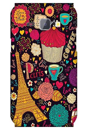 Silicon - Samsung Galaxy J1 Paris Valentine's Day Mobile Cover
