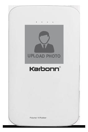 Upload Photo 10000mAh Karbonn Power Bank
