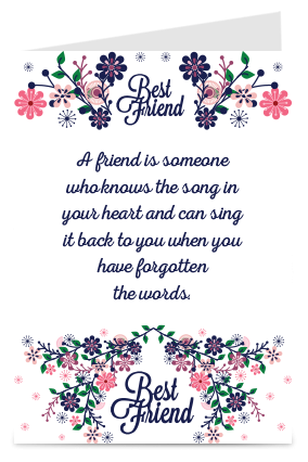 Buy personalized friendship day greeting cards online in india with amazing friendship day card m4hsunfo