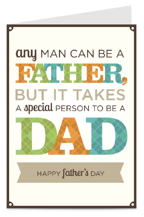Awesome Fathers Day Greeting Card
