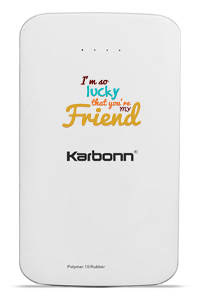 Lucky 10000mAh Karbonn Power Bank