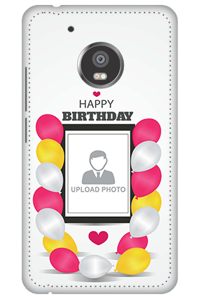 3D - Moto G5 Plus Birthday Greetings Mobile Cover