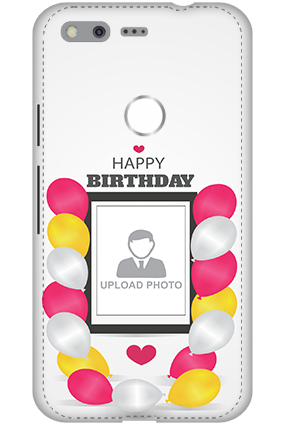 3D - Google Pixel Birthday Greetings Mobile Cover