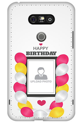 3D - LG G5 Birthday Greetings Mobile Cover