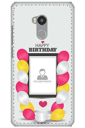 3D - Redmi 4 Prime Birthday Greetings Mobile Cover