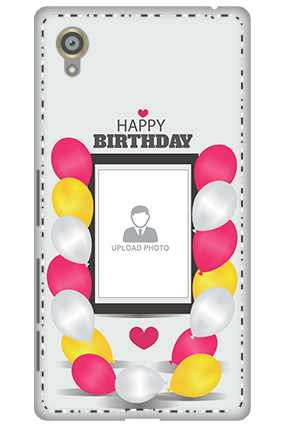 3D - Sony Xperia X Birthday Greetings Mobile Cover