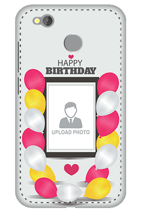3D -  Redmi 4 Birthday Greetings Mobile Cover