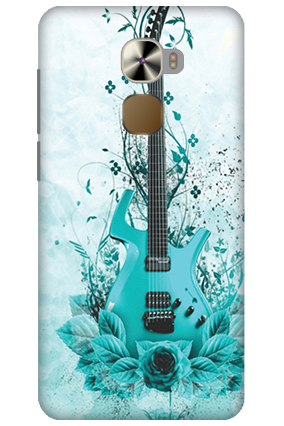 LeTV Le Pro 3 Blue Guitar Mobile Cover