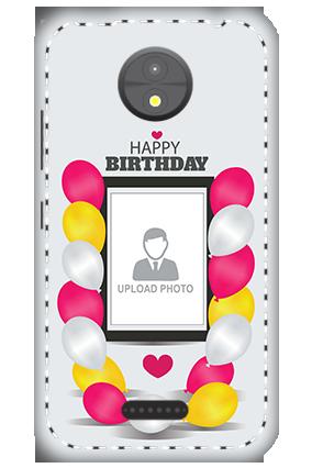3D -  Motorola Moto C Birthday Greetings Mobile Cover