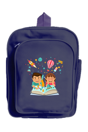 Kids Imagination School Bag