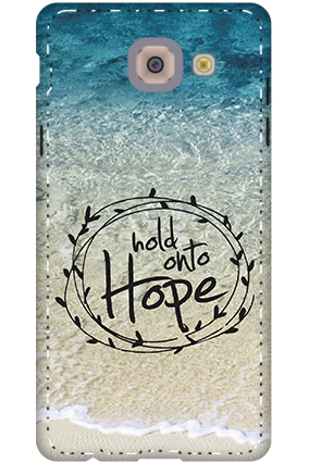 3D - Hope Message Cover For Samsung Galaxy J7 Max