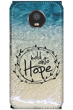 3D - Motorola Moto G5S Hope Message Mobile Cover