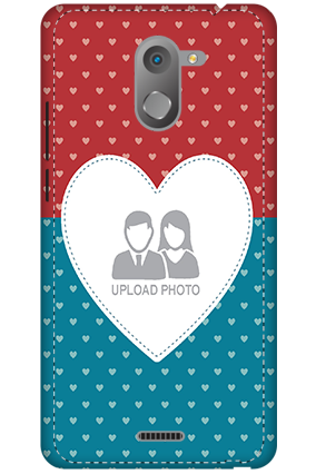 3D - Infinix Hot 4 Colorful Heart Valentine's Day Mobile Cover