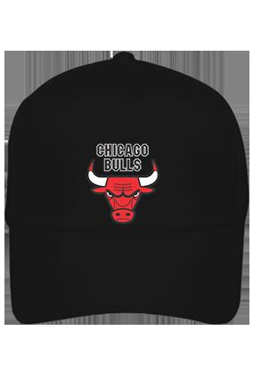 Bulls Black Cap