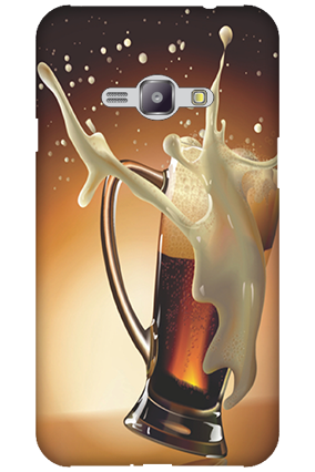 Silicon - Samsung Galaxy J1 Ace Cheers Mobile Cover
