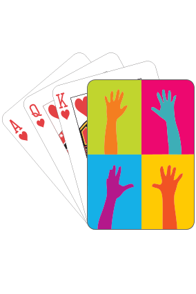 Colored Playing Card