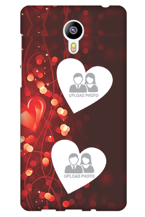 Transparent Silicon - True Love Valentine's Day  Meizu M2 Mobile Cover