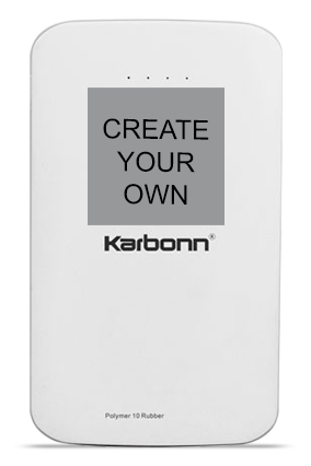 Create Your Own 10000mAh Karbonn Power Bank