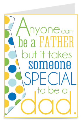 Beautiful Father's Day Greeting Card