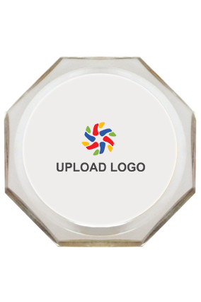 Promotional  Upload Logo Paperweight - 121