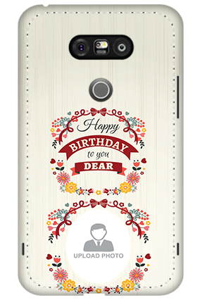 3D - LG G5 Happy Birthday Dear Mobile Cover
