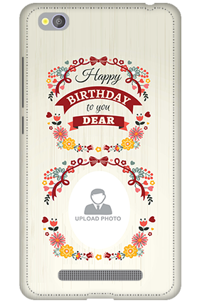 3D - Xiaomi Redmi 4A Happy Birthday Dear Mobile Cover