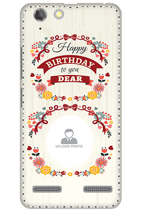 3D - Lenovo Vibe K5 Plus Happy Birthday Dear Mobile Cover