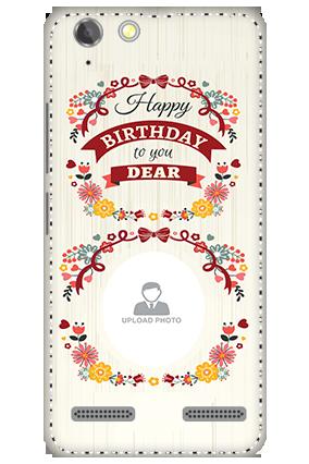 3D - Lenovo Vibe K5 Plus Happy Birthday Dear Mobile Cover