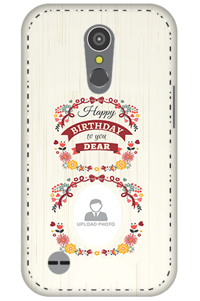 3D - LG K10 (2017) Happy Birthday Dear Mobile Cover