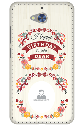 3D - Gionee S6 Pro Happy Birthday Dear Mobile Cover