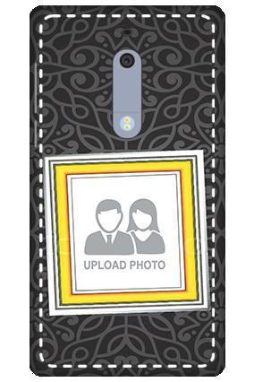 3D - Nokia 5 Black Designer Mobile cover