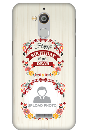 3D - Coolpad Note 5 Happy Birthday Dear Mobile Cover