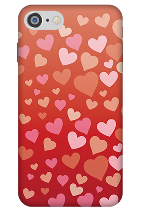 3D - IPhone 7 Dazzling Valentine's Day Mobile Cover