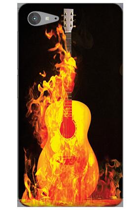 Lenovo Z2 Plus Fired Guitar Mobile Cover