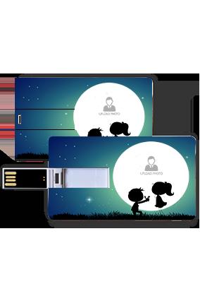 Promise Under Sky Plastic Credit Card Pen Drive